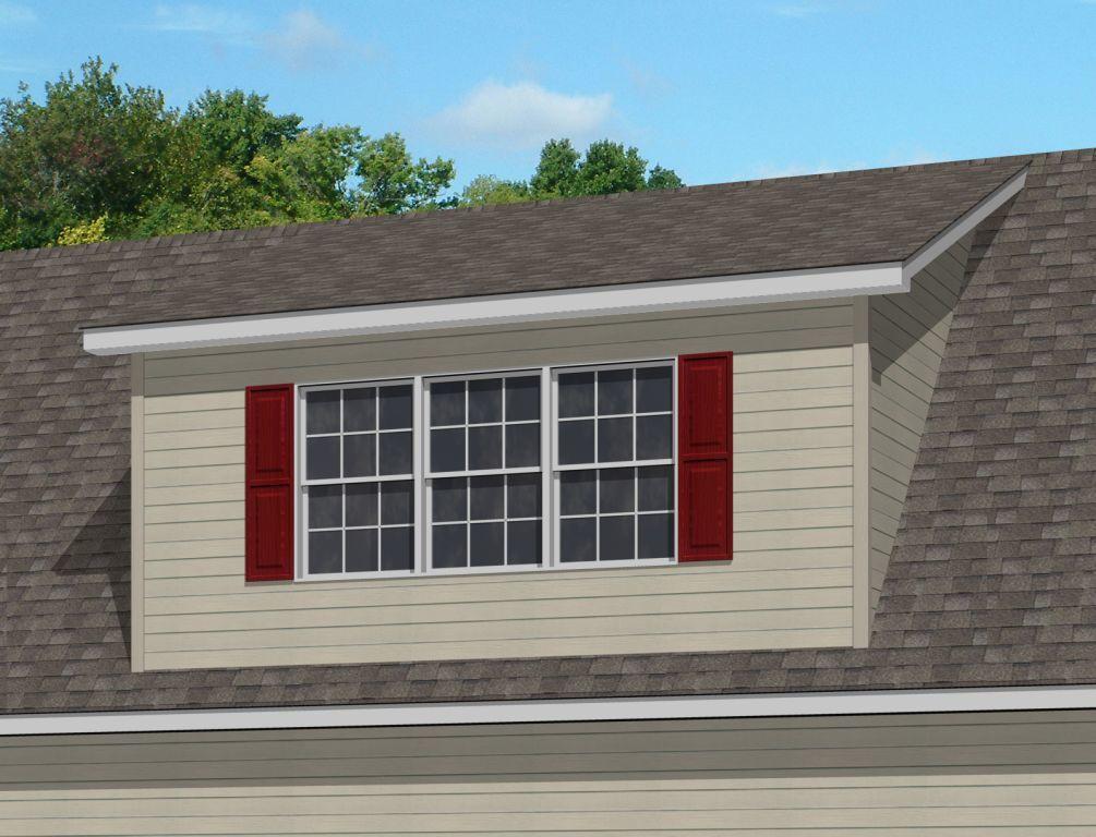 Shed Roof Dormer | Pennwest Homes