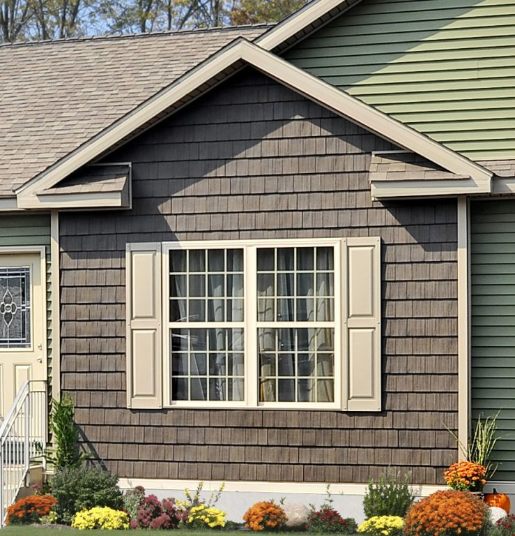 Shake Accents Pennwest Homes