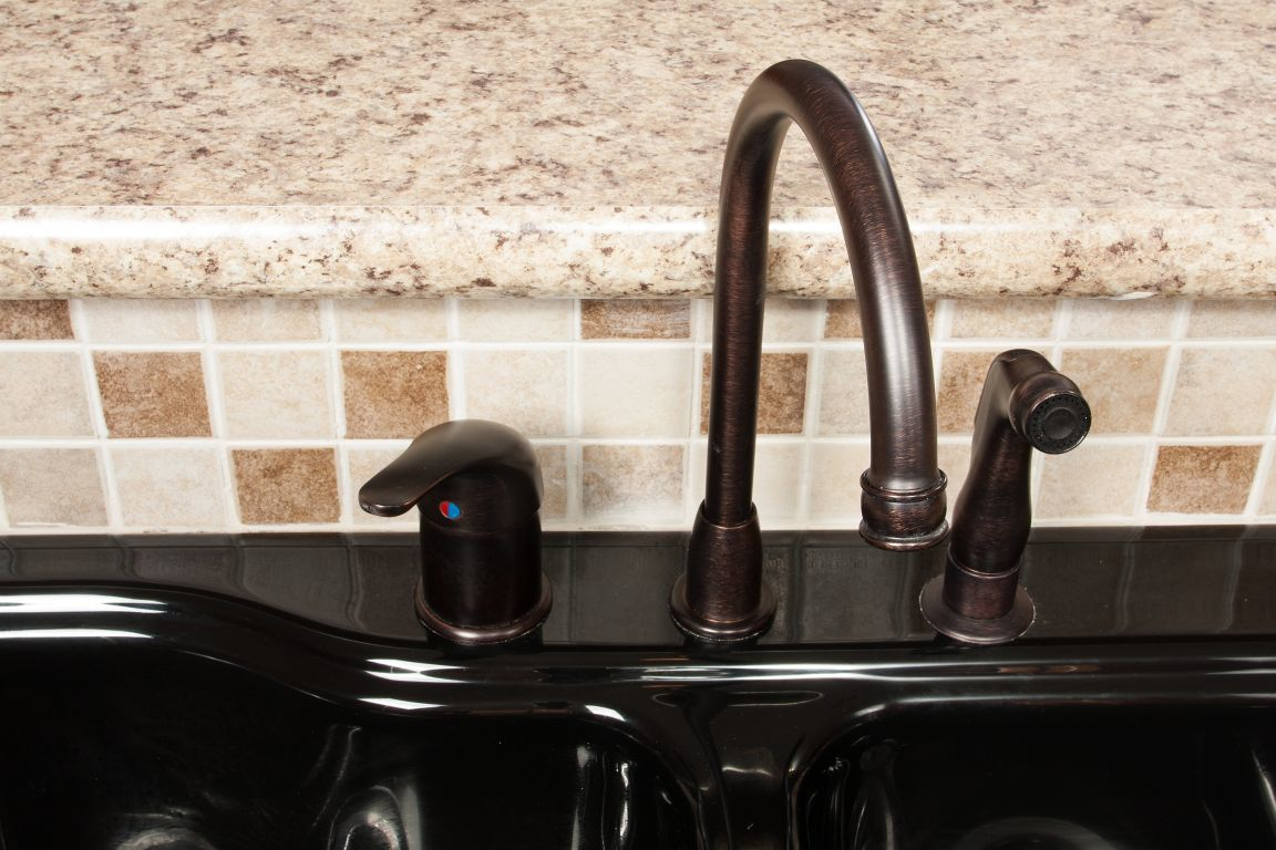 Kitchen High Rise Faucet Pennwest Homes - High rise kitchen faucet