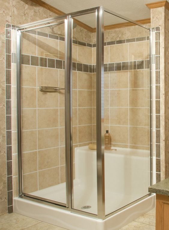 48x48 Ceramic Shower With Seat Pennwest Homes