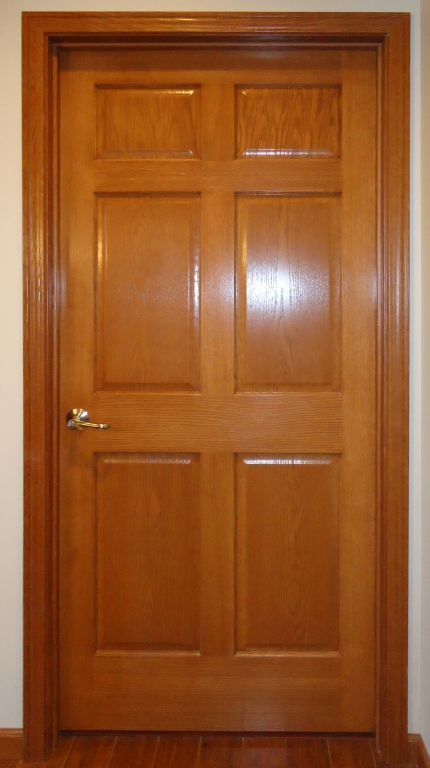 6 panel oak veneer interior door pennwest homes expand planetlyrics Image collections