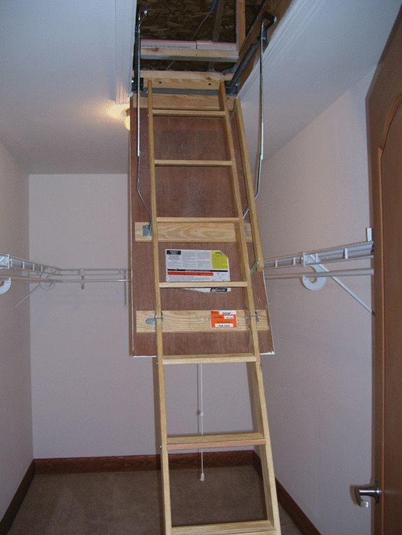 Pull Down Steps For Attic Storage Pennwest Homes