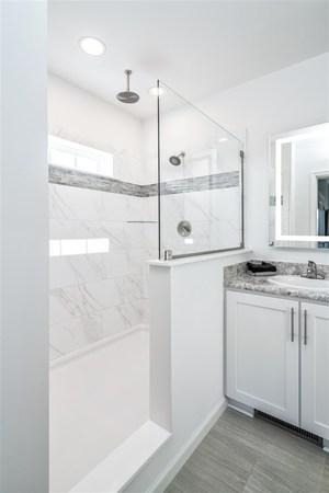 4u0027 X 6u0027 Ceramic Walk In Shower Without Corner Seat