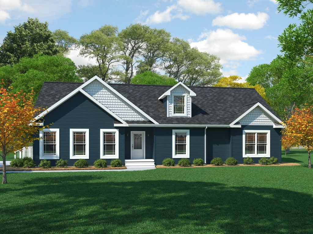 Home pennwest homes for Custom ranch home builders maryland