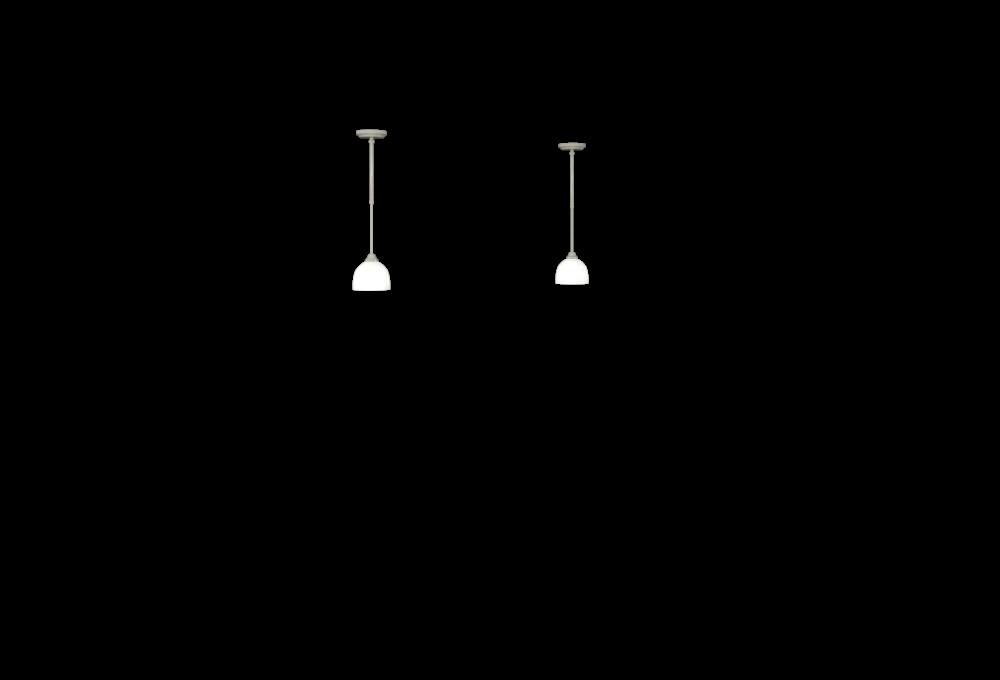 Stem Lights - Brushed Nickel