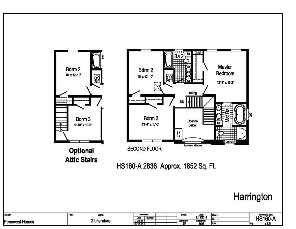 pennwest 2-story modular - the harrington