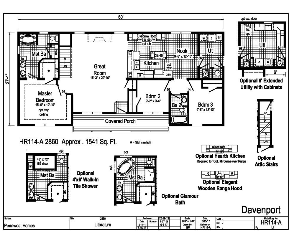 Pennwest ranch modular davenport hr114a find a home pennwest overview ccuart Images