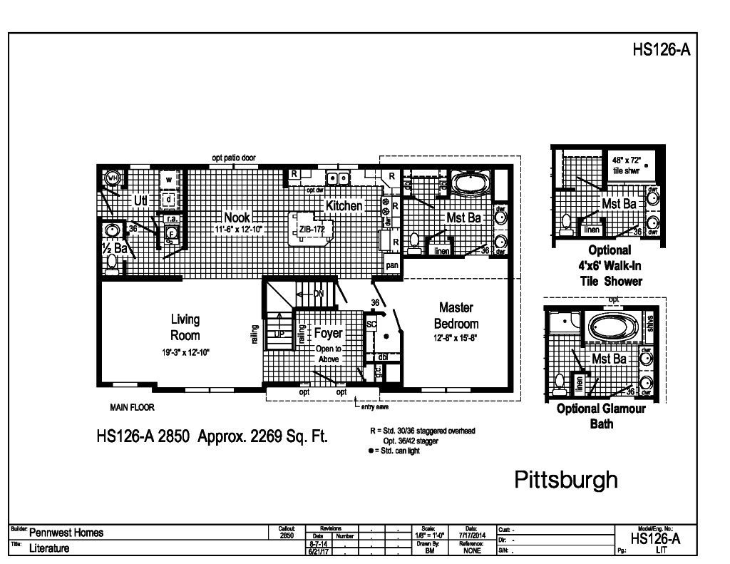 Pennwest 2 story modular pittsburgh hs126a find a for How to find a home builder in your area
