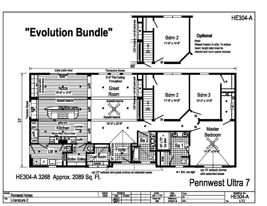 Pennwest Ranch Modular Pennwest Ultra 7 Evolution