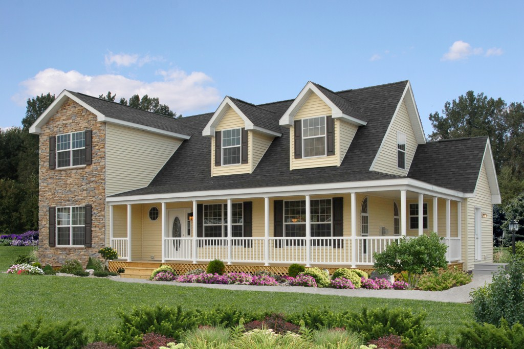 Pennwest 2 story modular ridgefield hk101a find a for Modular homes that look like farm houses